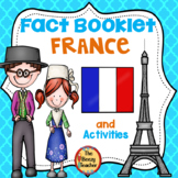 France Fact Booklet and Activities with Digital Activities