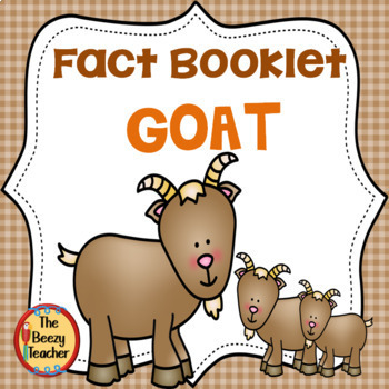 Fact Booklet - Goat