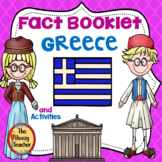 Greece Fact Booklet and Activities