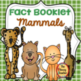Mammals Fact Booklet with Digital Activities