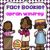 Black History Oprah Winfrey Fact Booklet