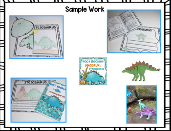 Fact Booklet - Stegosaurus