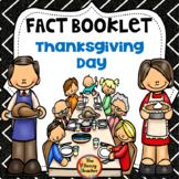 Thanksgiving Day Fact Booklet with Digital Activities