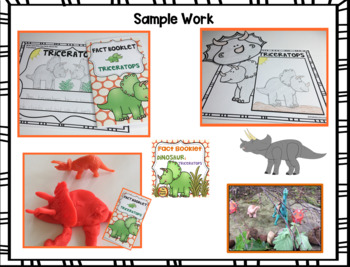 Fact Booklet - Triceratops