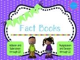 Fact Books Bundle: Addition, Subtraction, Multiplication,