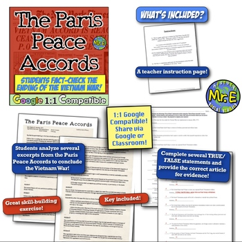 Fact-Checking the Paris Peace Accords! Analyzing the End of the Vietnam War!