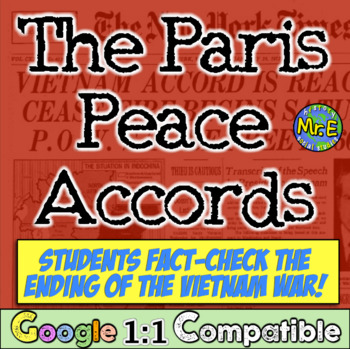 Fact-Checking the Paris Peace Accords! Analyzing the End o