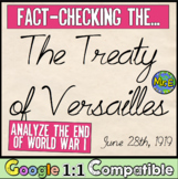 Fact-Checking the Treaty of Versailles! Analyzing the End of World War I (WWI)!