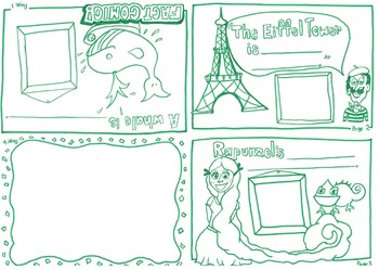 Fact Comic - Learning Comparative Adjectives ESL