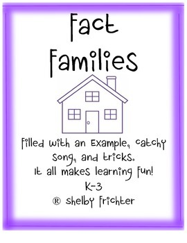 Fact Families (Common Core Aligned)