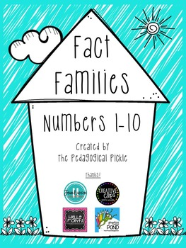 Fact Families 1-10 Printables