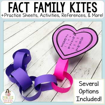 Fact Families Craft and Activities