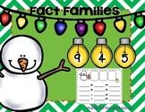 Christmas Fact Families {Holiday}