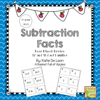 Fact Families 17 and 18 Cooperative Learning: Peer-Check-Review