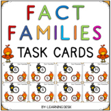 Fall Activities For First Grade - Fact Families (Math Facts)