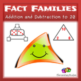 Fact Family worksheets up to 20