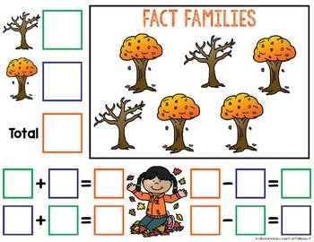 Fact Families Task Cards