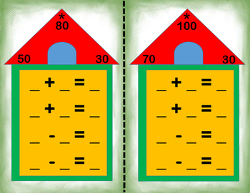 Fact Families - Addition and Subtraction