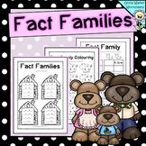 Fact Families / Fact Family Houses / Worksheets / Printables / Goldilocks Math