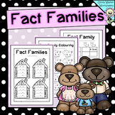 Fact Families / Fact Family Houses / Worksheets / Printabl