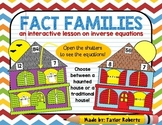 Fact Families - Haunted House Cut & Paste Activity