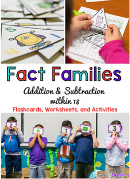 Fact Families: Add and Subtract within 18