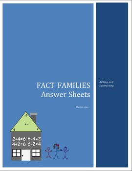 Fact Families (Adding and Subtracting)