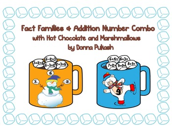 Fact Families & Addition Number Combo with Hot Chocolate & Marshmallows