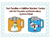 Fact Families & Addition Number Combo with Hot Chocolate &
