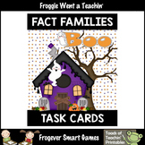 """Fact Families--Addition/Subtraction Related Facts """"Boo"""""""