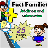 Fact Families Addition and Subtraction