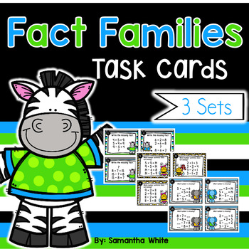 Fact Families {Addition and Subtraction}