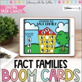 Fact Families BOOM Cards | Digital Task Cards | Distance Learning