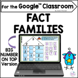 Fact Families Math Activity for Google™ Classroom Fact Fam