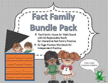 Fact Families: Bundle Pack - Great for Whole Group and Independent Practice