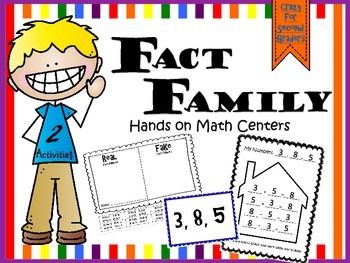 Fact Families Center: Bonus Activity!