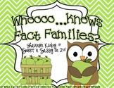 Fact Families Center Game