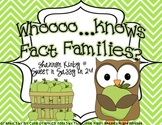 Fact Families Center Game