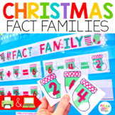 Fact Families Christmas Math for Google (TM) & PowerPoint