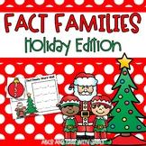 Fact Families {Christmas theme}
