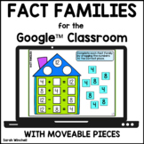 Fact Families Math Activities for the Google™ Classroom