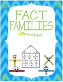 Fact Families FREEBIE