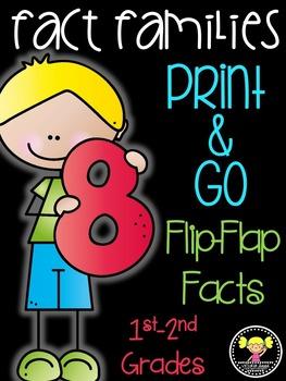 Fact Families Flip-Flap Facts {A Growing Bundle}