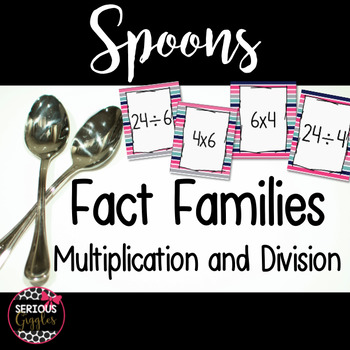 Fact Families Game - Spoons