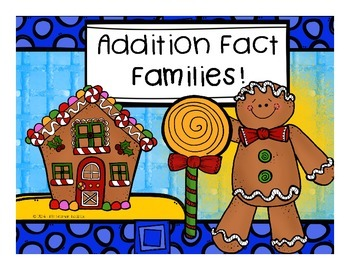 Fact Families (Gingerbread)