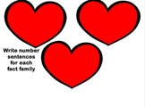 Fact Families Heart-to-Heart Activ Lesson