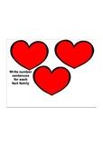 Fact Families Heart-to-Heart Worksheet