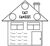 Fact Families [House] Worksheet