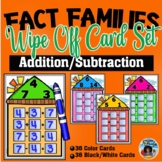Fact Families Houses Wipe Off Cards Set