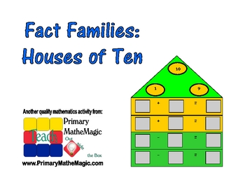 Fact Families:  Houses of Ten